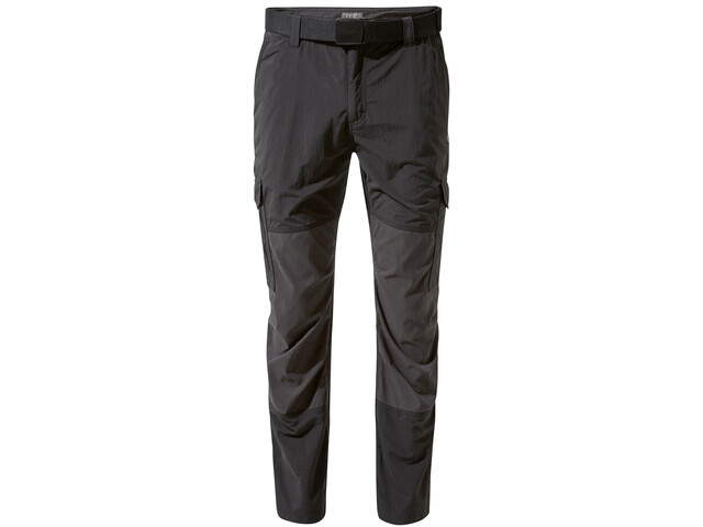 Craghoppers NosiLife Pro Adventure Pantalones Hombre, black/black pepper